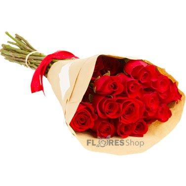 1019 Ramalhete de Rosas Vermelhas