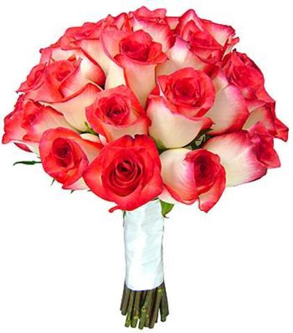 1624 Buquê de Noiva de Rosas