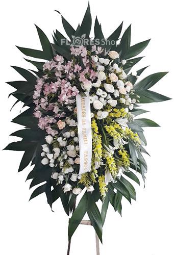 1752 Coroa Flores Vaticano Esmeralda