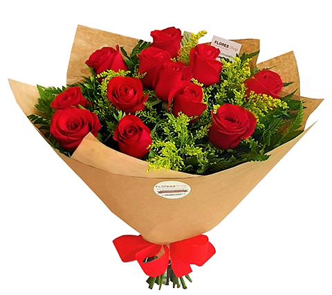 2123 Buquê tradicional de rosas