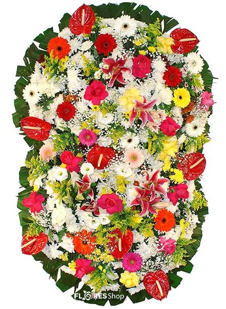 2109 Coroa de flores