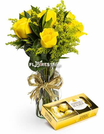 2134 Doce Rosas Amarelas