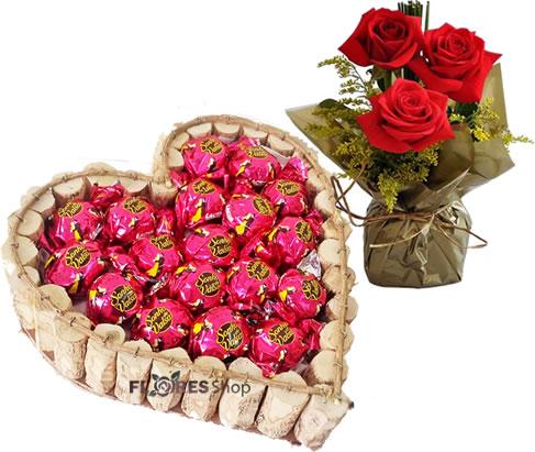 2405 Coração Sonho de Rosas