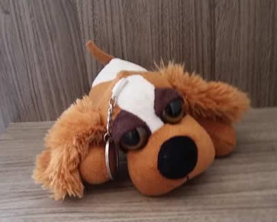 2489 Dog Chaveiro