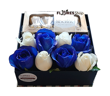 2732 Doce Flower Box Blue
