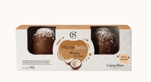 2854 Montebello 90g - Cacau Show sabor variado