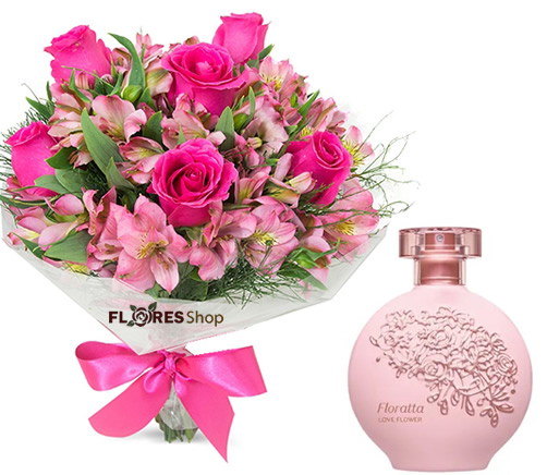 3161 Tudo Rosa + Colônia O Boticário