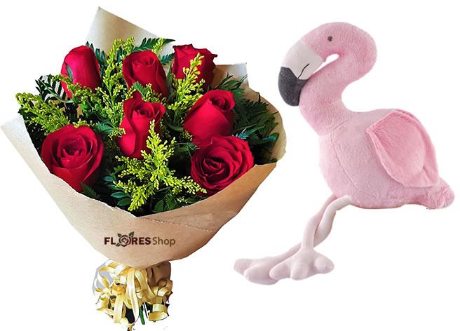 3862  Red Like Flamingo
