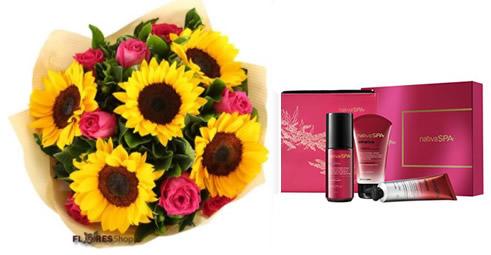 3874 Sunflower & Roses