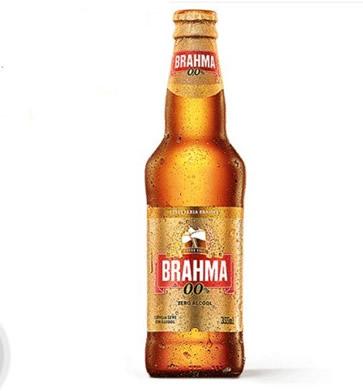 4086 Cerveja s/álcool Brahma Zero Long Neck 355ml