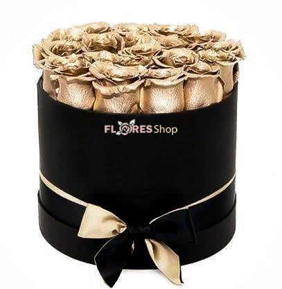 4513 Golden Roses Luxury Box