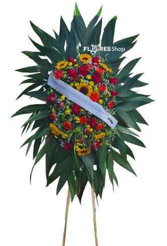 4653 Coroa de Flores por do Sol