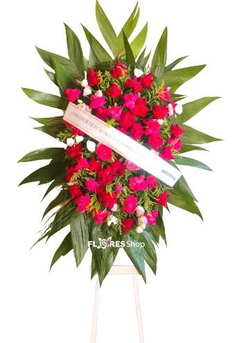 4661 Coroa de Flores Estilo