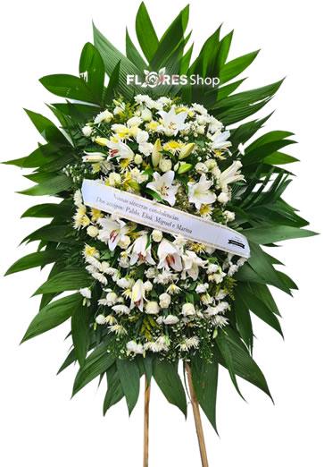 5080 Coroa de Flores Para Homem