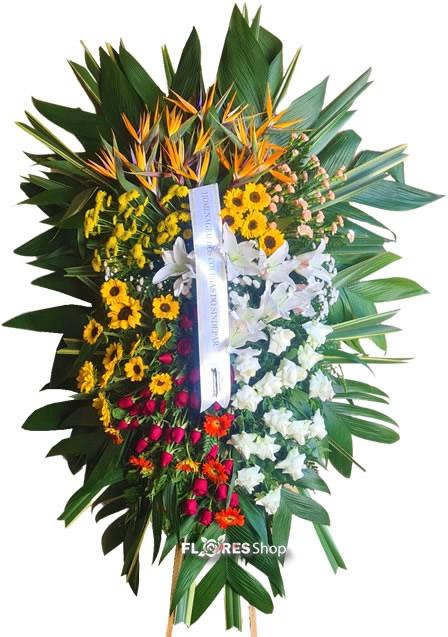 5087 Coroa de flores Majestosa