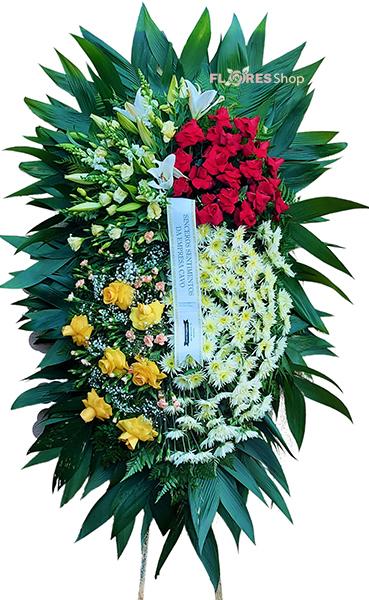 5153 Coroa de Flores Presença