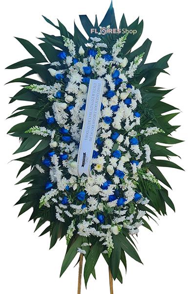 5154 Coroa de flor Serena