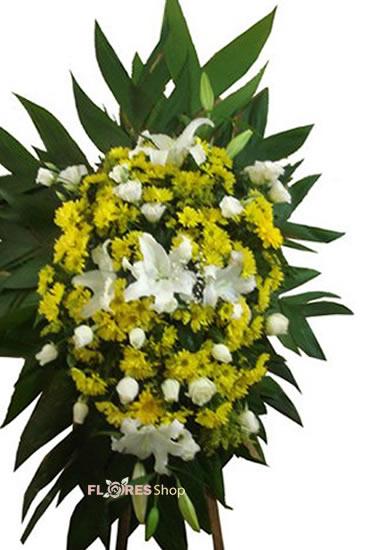 558 Coroa de Flor para Velório