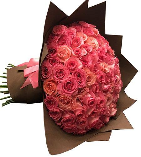 630 Show... 100 Rosas cor de rosas