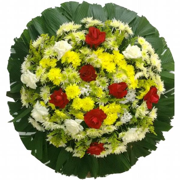 2196 Coroa de Flores e Rosas