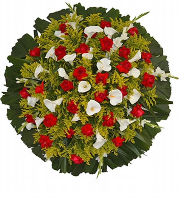 2199 Coroa de Rosas e Copo de Leite
