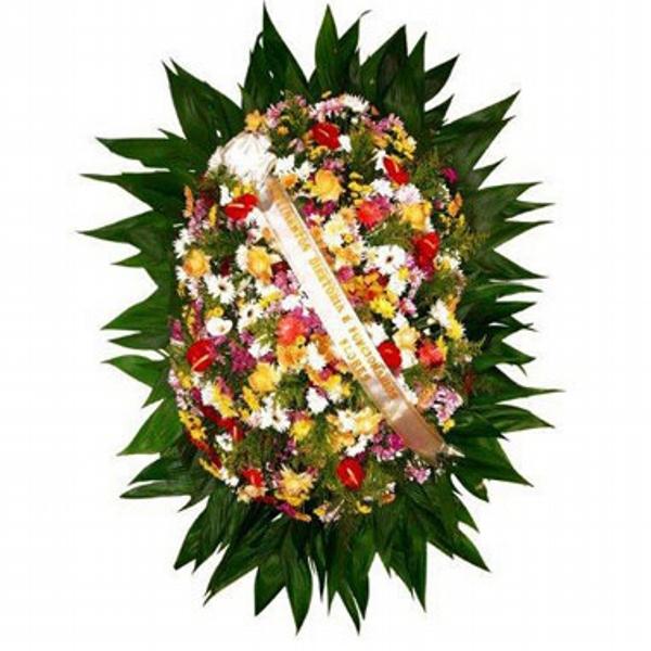 2201 Coroa de Flores Nobre