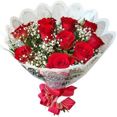 43 Buquê de Rosas Romântico