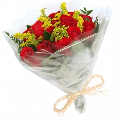 57 Buquê com 15 Rosas Vermelhas