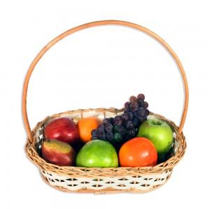 681 Cesta de Frutas Feliz dia pra você!