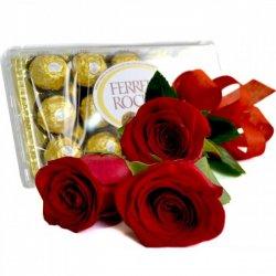 698 Trio de Rosas e Ferrero