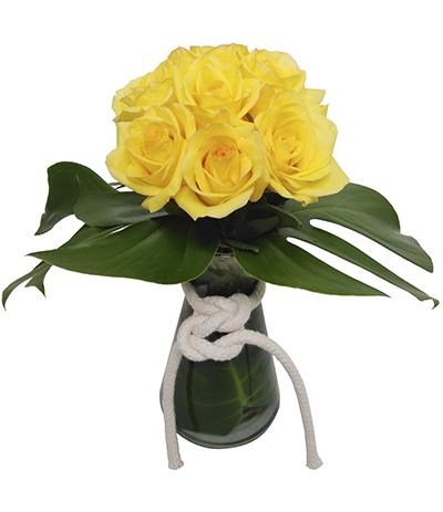 1083 Arranjo de Rosas Amarelas