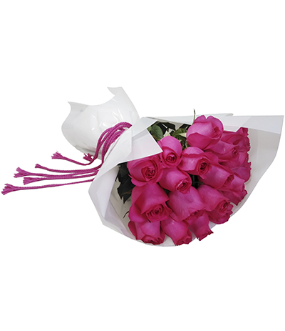 1774 Buquê de 20 Rosas Pinks
