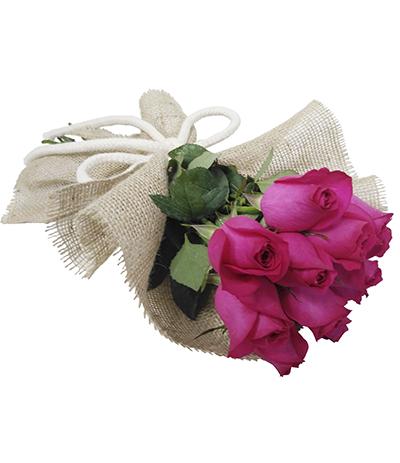 1843 Buquê de 12 Rosas Pinks