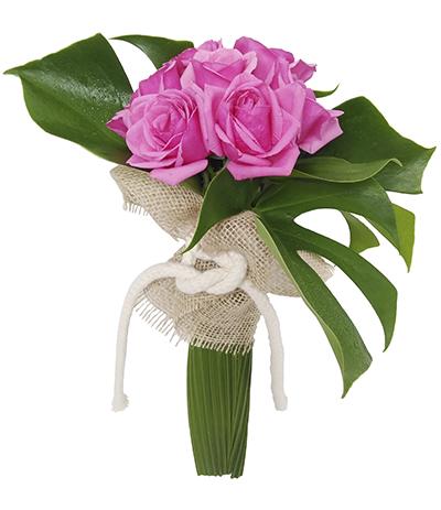 508 Buquê de 07 Rosas Pink
